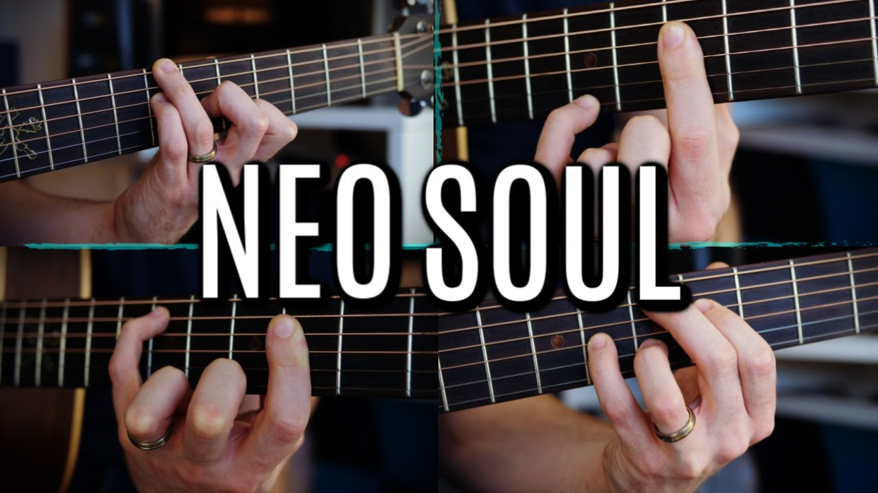 FIVE Beautiful Neo-Soul Guitar Progressions with Awesome Voicings