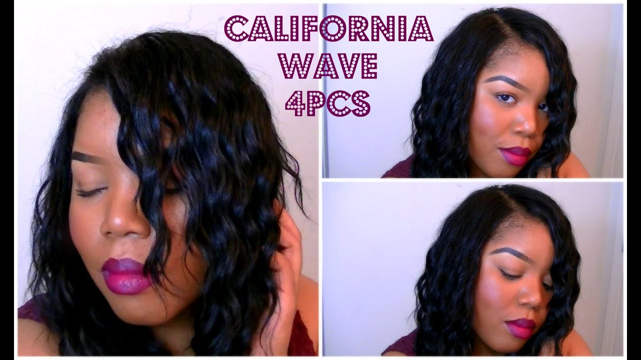 First Look/ Install Results | Freetress California Wave 4pcs