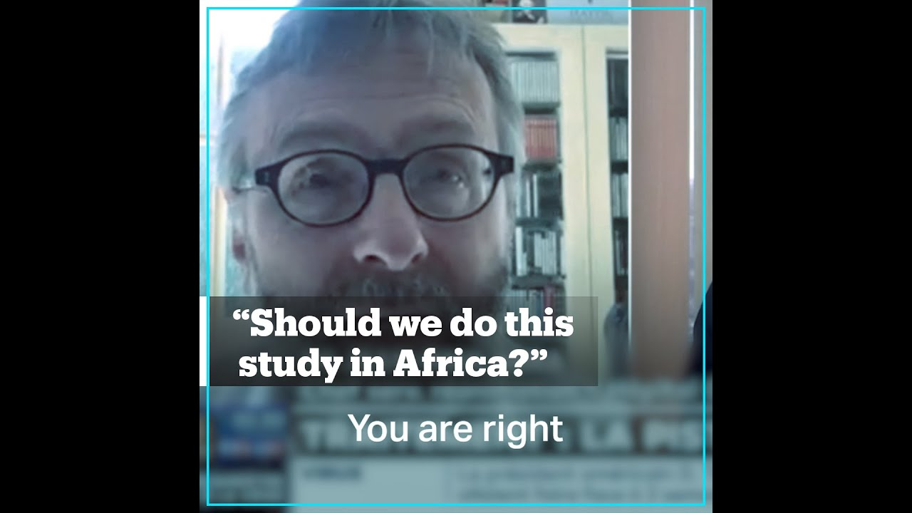 French doctors discuss testing Covid-19 vaccine in Africa