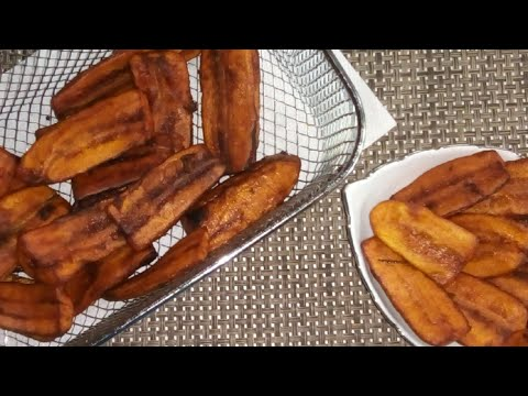 Fried Plantain | how to fry plantain | fried gonja,