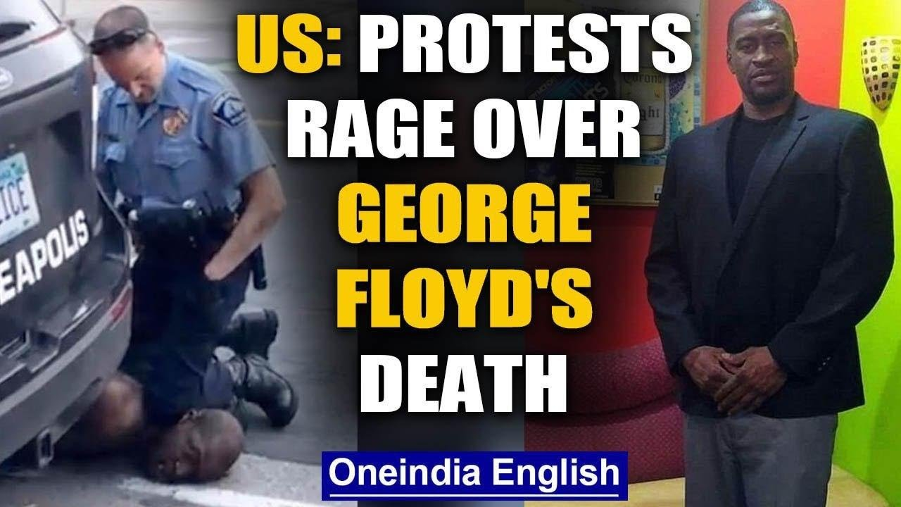 George Floyd:An African American's death sparks protests against racial discrimination