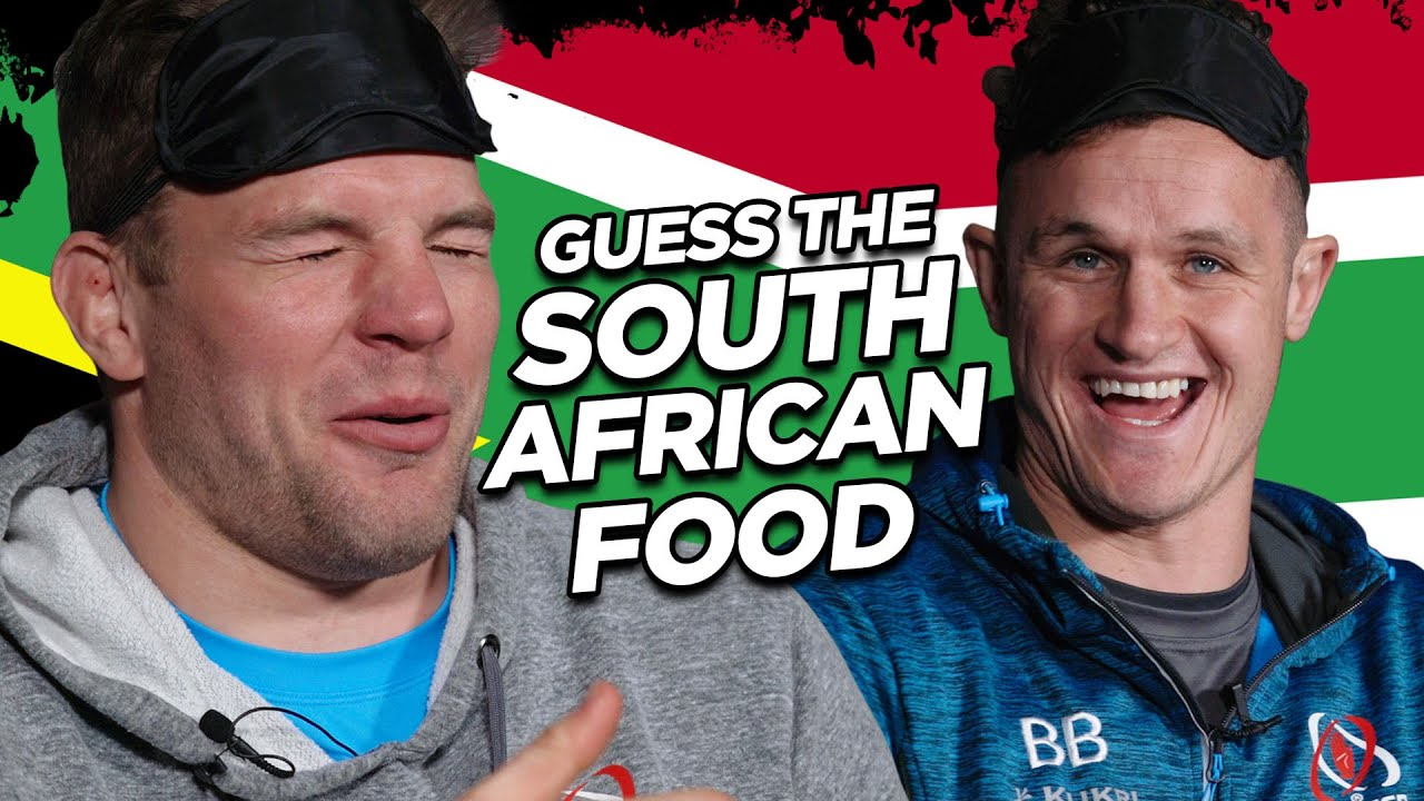Guess the South African food   Ulster Rugby's Blind Taste