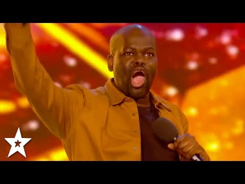 HILARIOUS Comedian Daliso Chaponda WINS GOLDEN BUZZER! | Britain's Got