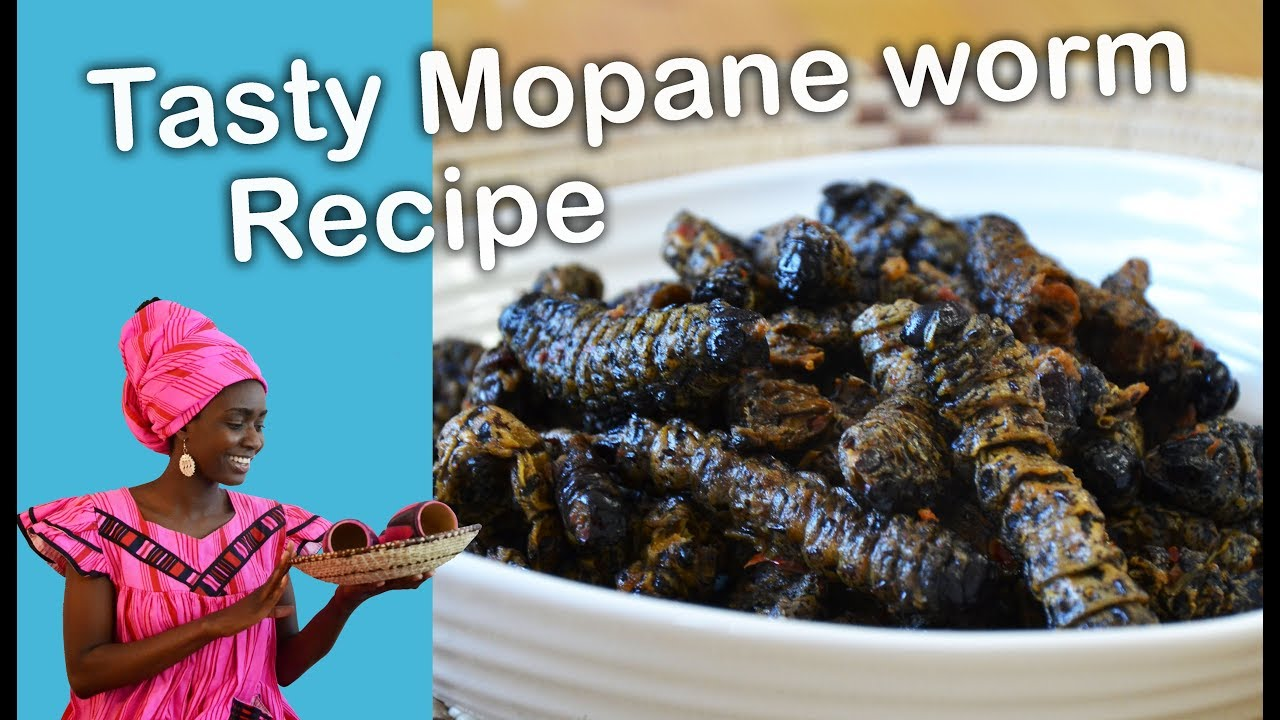 HOW TO COOK MOPANE WORMS (MADORA, MINGOLO) TASTY NAMIBIAN/AFRICAN FOOD,