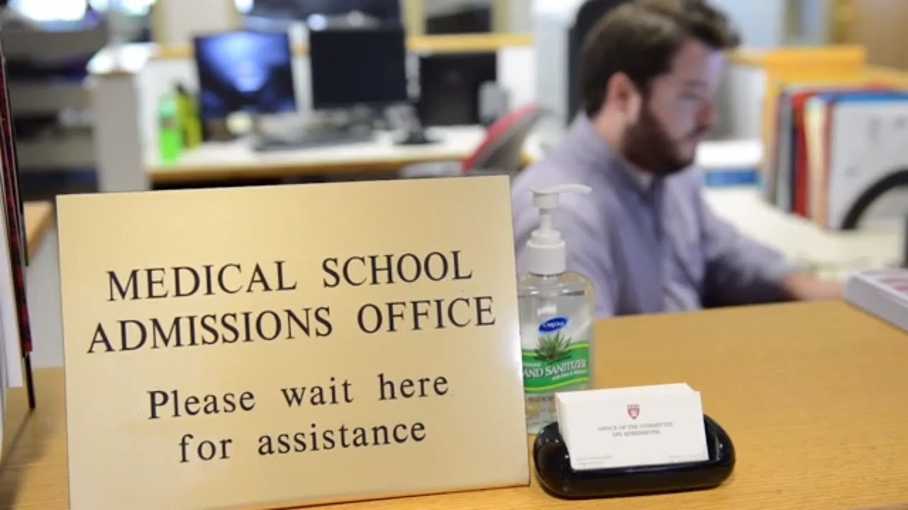 Harvard Medical: A look at the admissions process