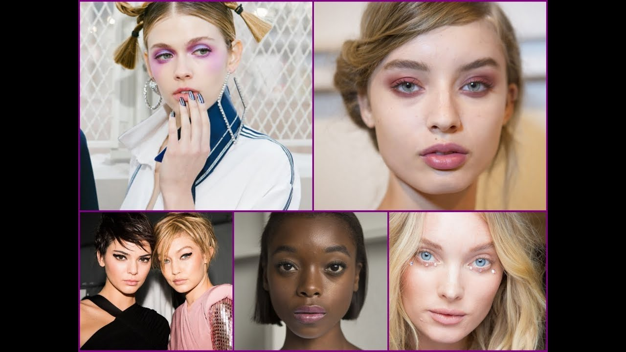 Hottest Makeup Trends From SS 2018 NYFW / Best Beauty