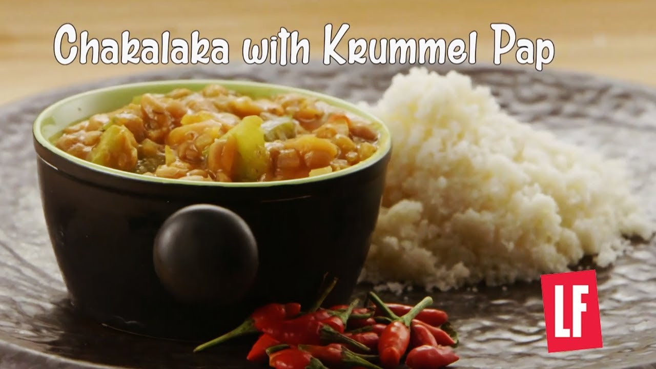 How To Make Chakalaka with Krummel Pap   South African