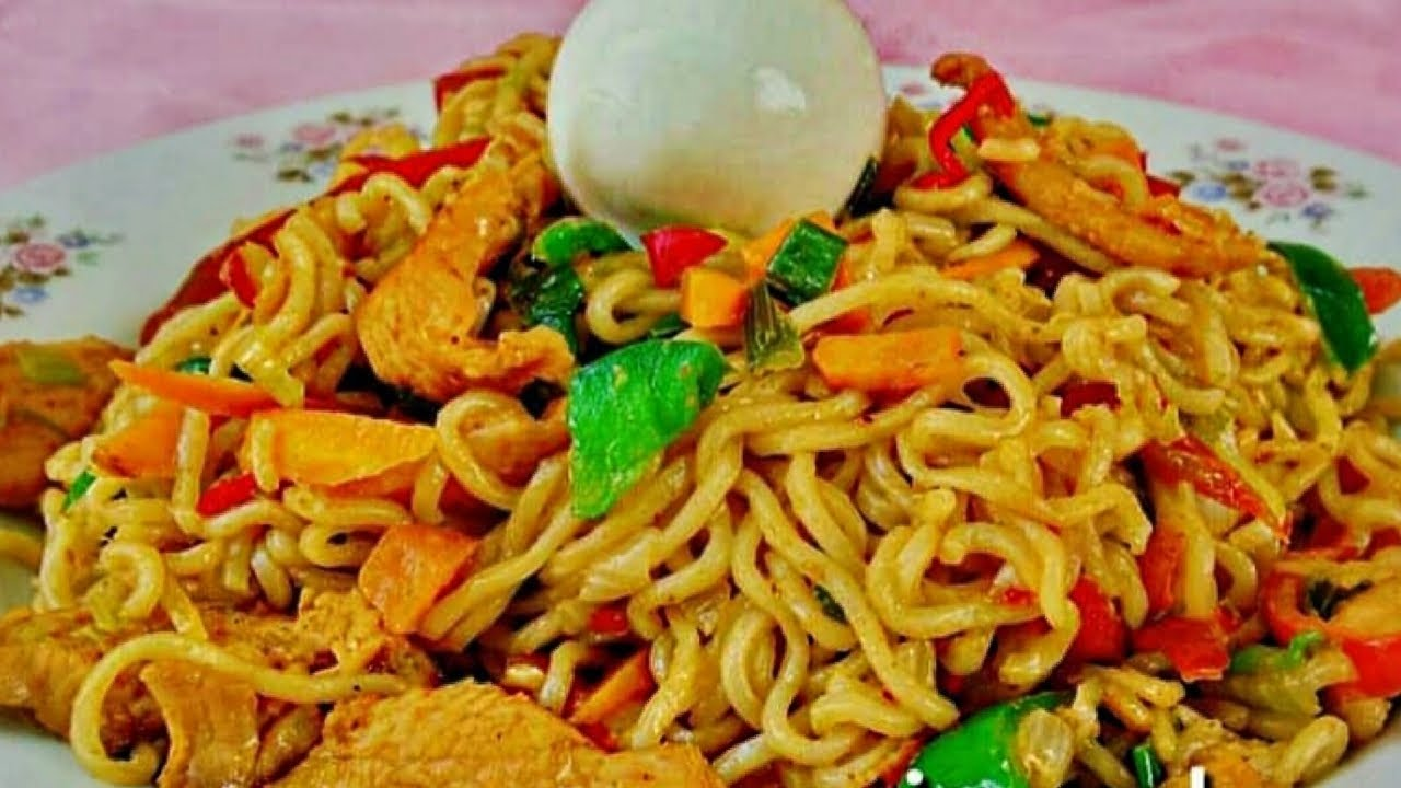 How to Cook Indomie Noodles Stir Fry with Chicken –