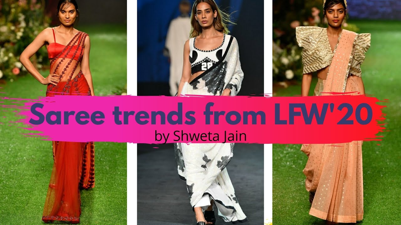 How to shop for Sarees: Hot trends from Lakme Fashion