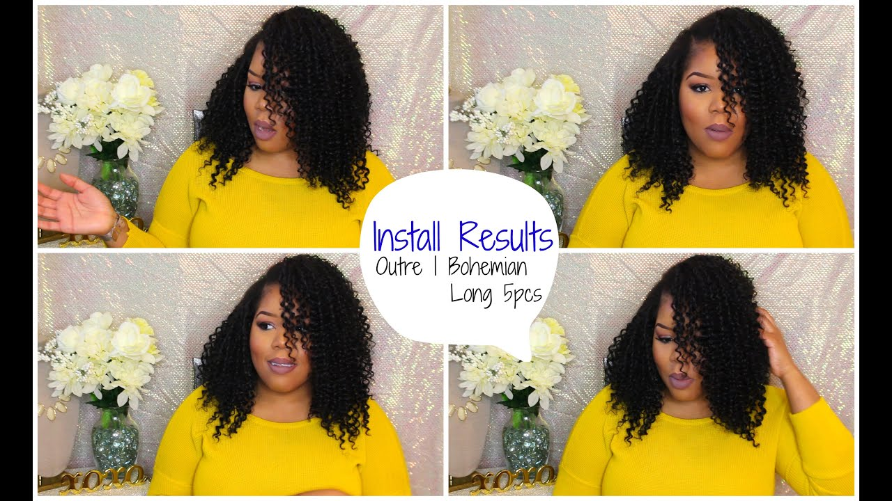 Install Results | Outre Bohemian Long 5PCS