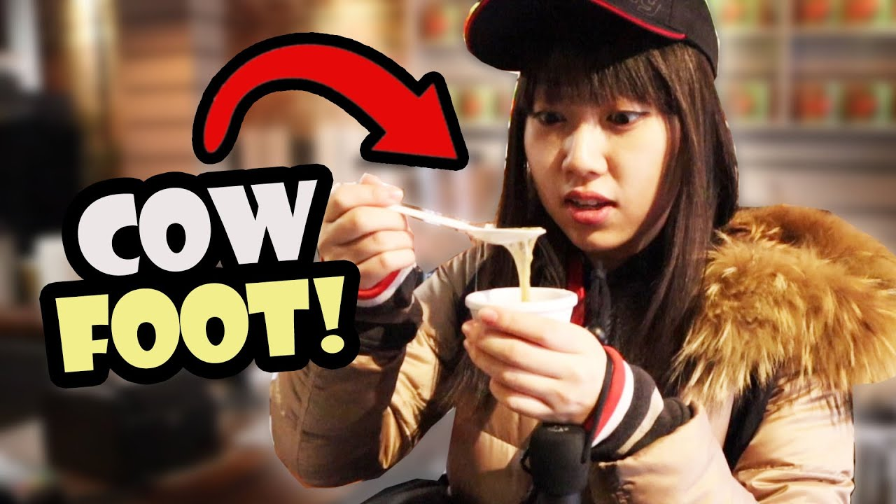 JAPANESE GIRL Tries AFRICAN FOOD For The FIRST TIME!!  