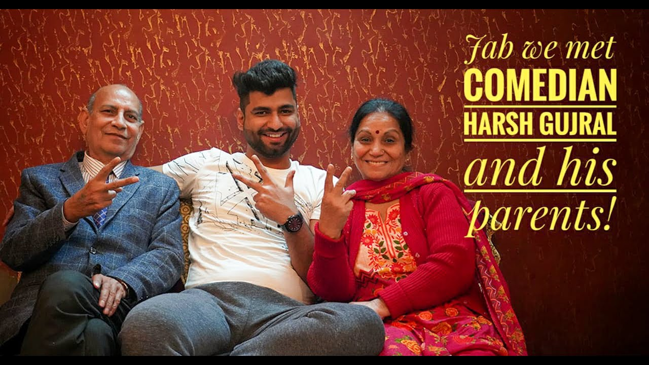Jab we met stand up comedian @Harsh gujral and his