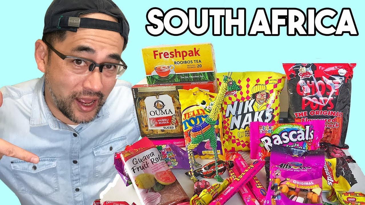 Japanese try South African snacks & treats for the first