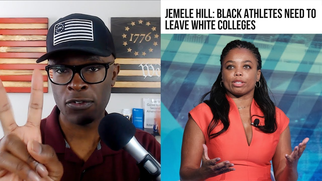 Jemele Hill Says Black Athletes Should LEAVE White Colleges!