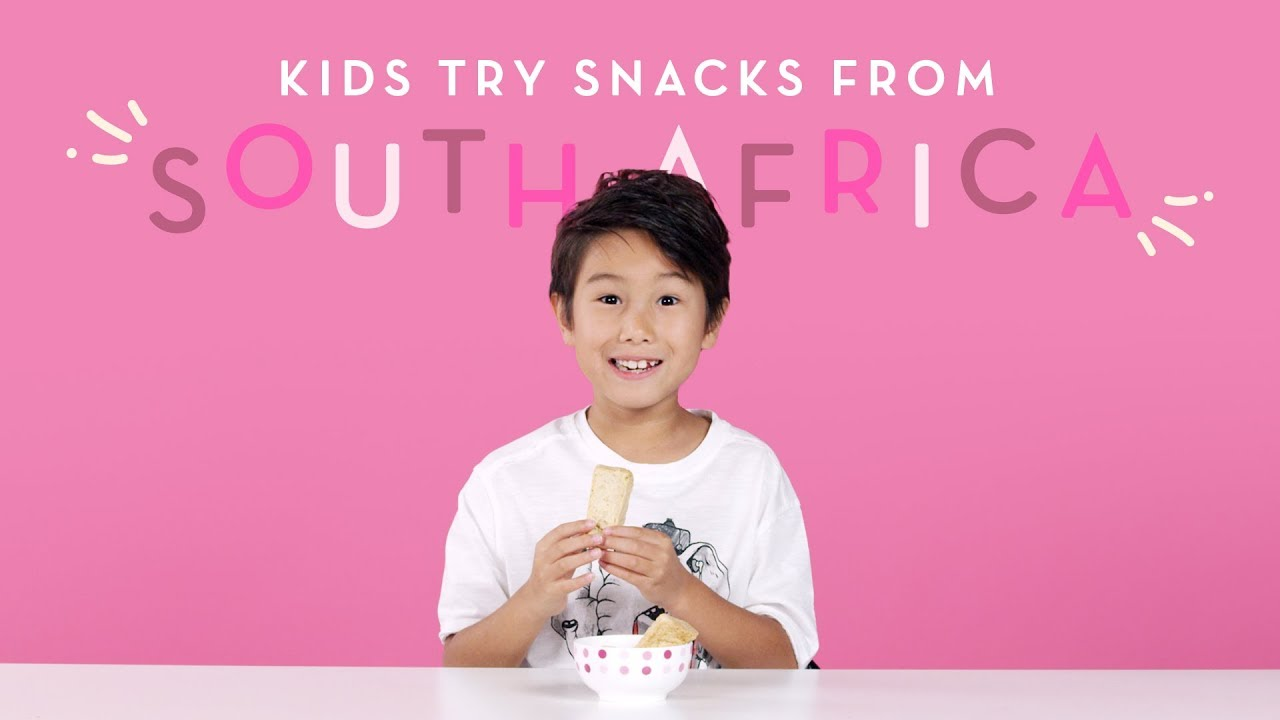 Kids Try Snacks From South Africa | Kids Try |