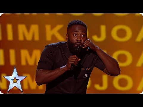 Kojo's hilarious childhood tales has the Judges in stitches |