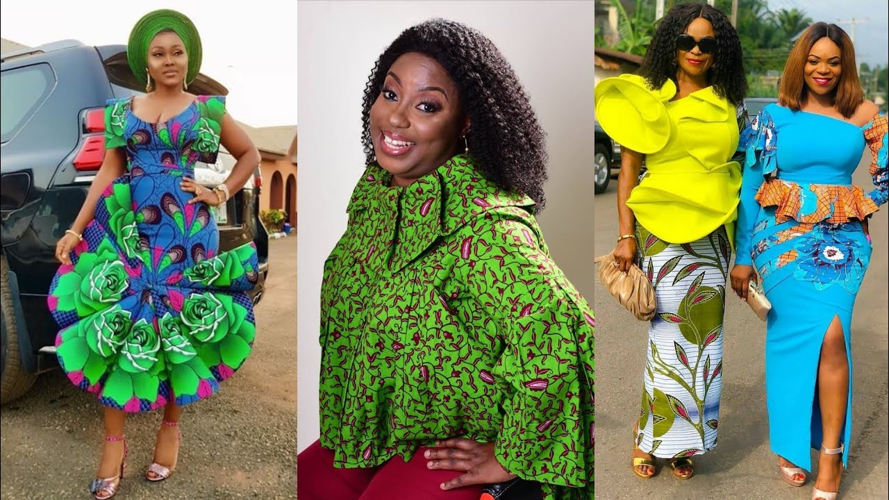 Latest 2019 African Fashion Dresses For Lovelies to Rock this