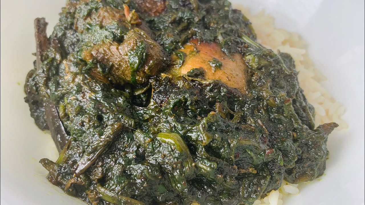 Liberian Rubbed Greens | African Food |