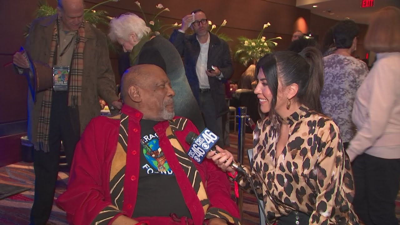 Louis Gossett Jr. at the African-American Jewish Film Festival