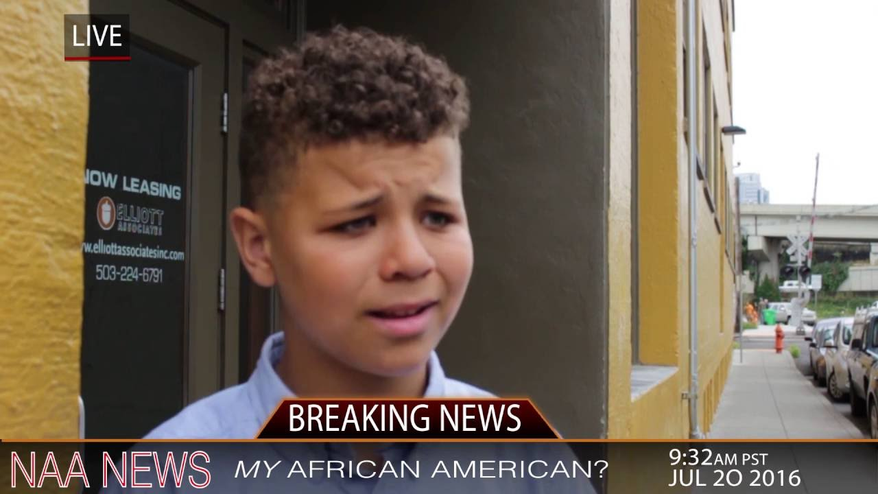 MY AFRICAN AMERICAN?