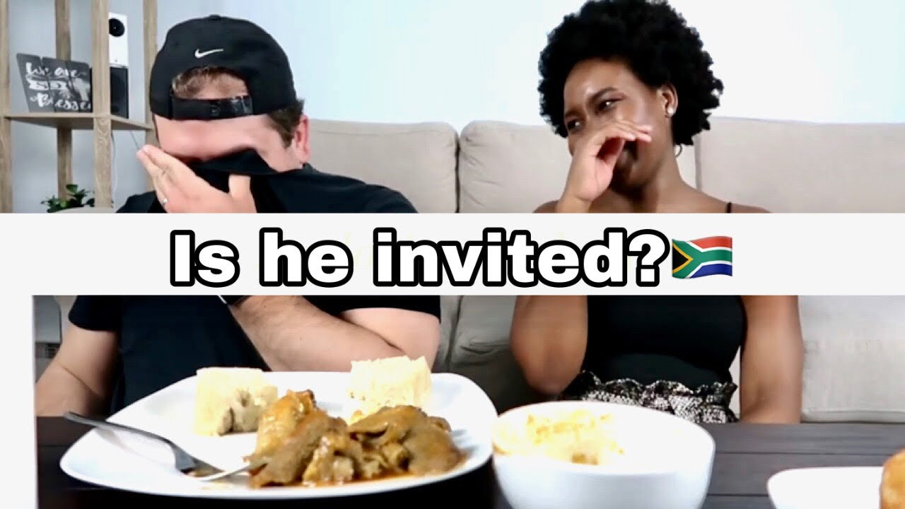 "MY HUSBAND TRIES SOUTH AFRICAN ""SOUL FOOD"" FOR THE FIRST"