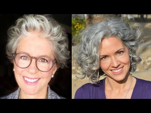 Magnificent Short Haircuts For Older Women With Curly Hair in