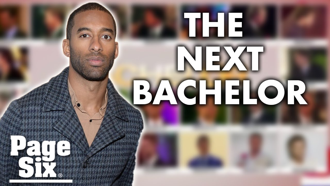 Matt James named the first black 'Bachelor' in show's history