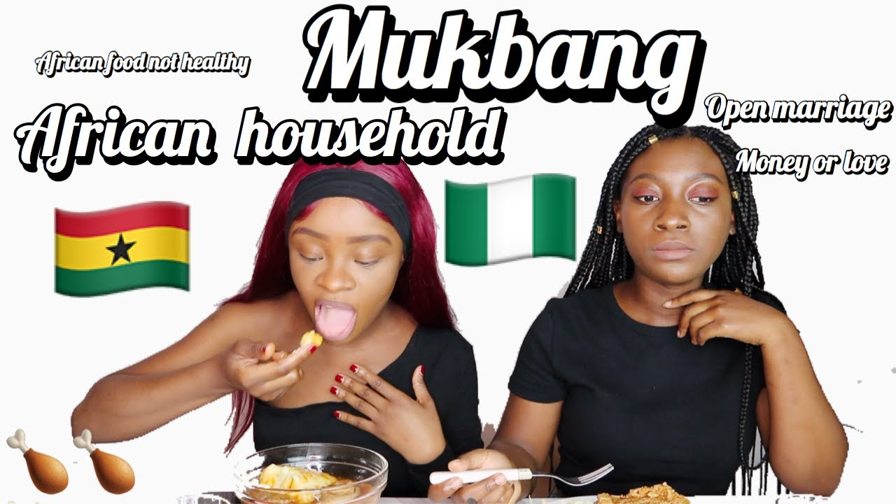 Mukbang: African food not healthy, money or love, African in