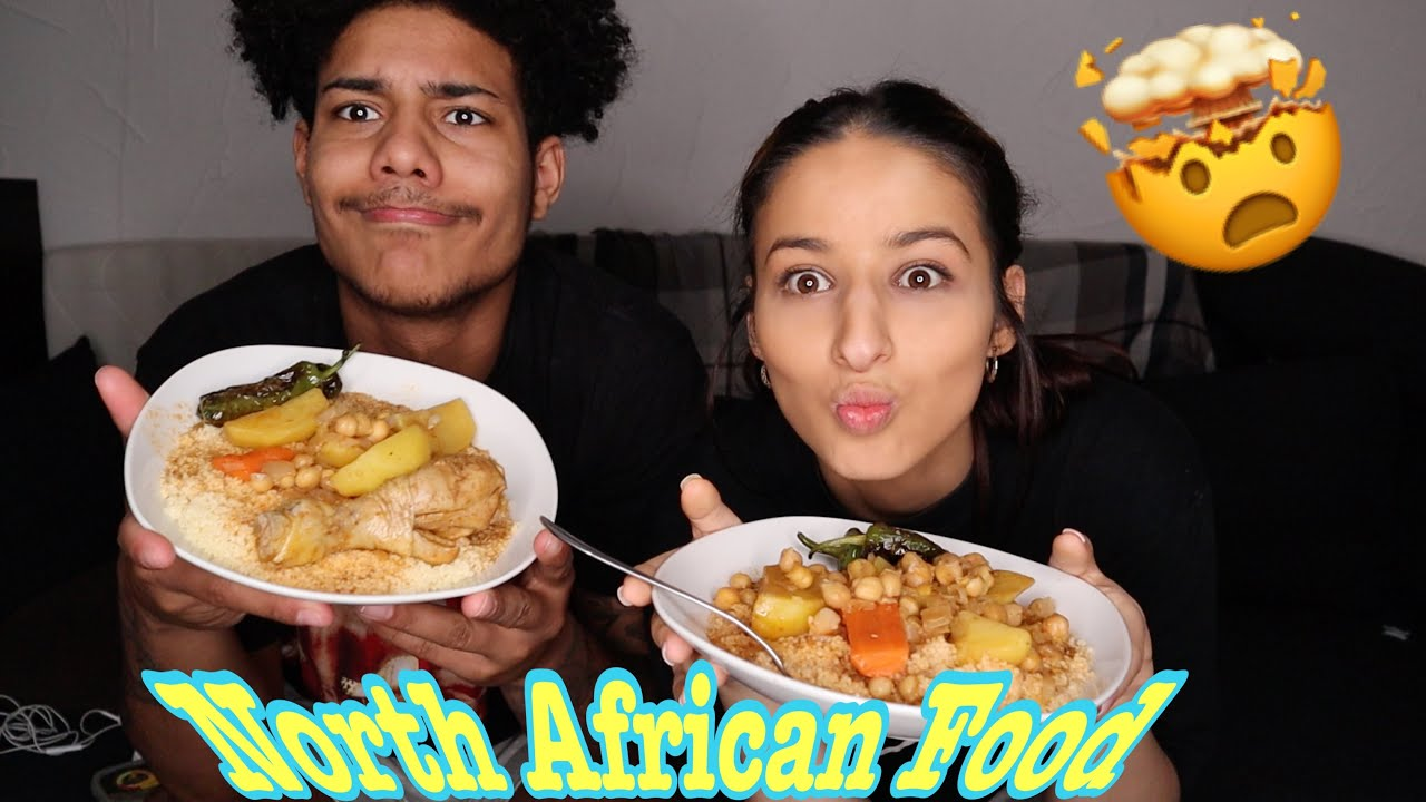 My Girlfriend Made Me North African Food🥘🤤