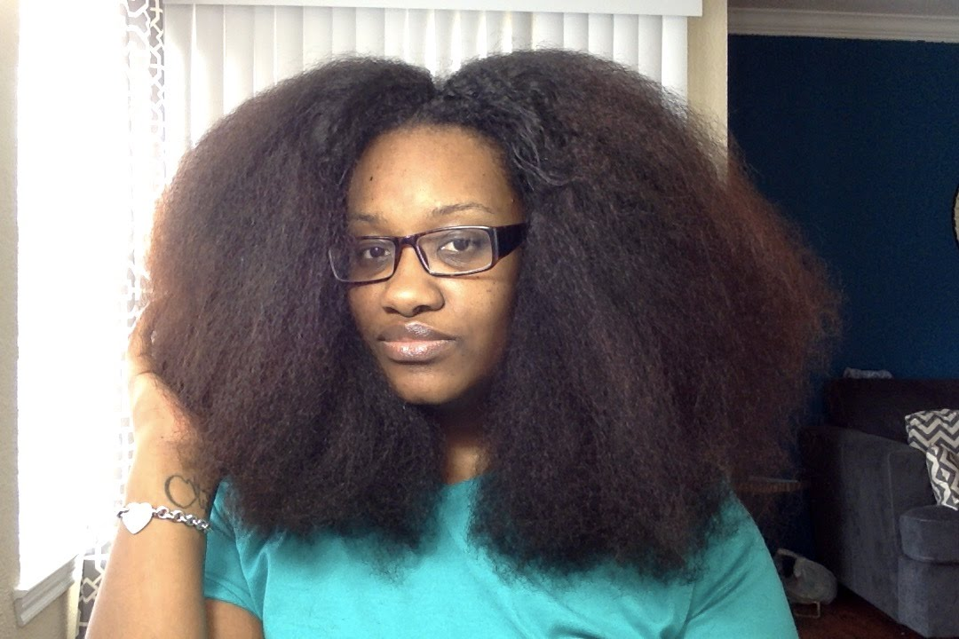 NATURAL HAIR: Trimming Split Ends