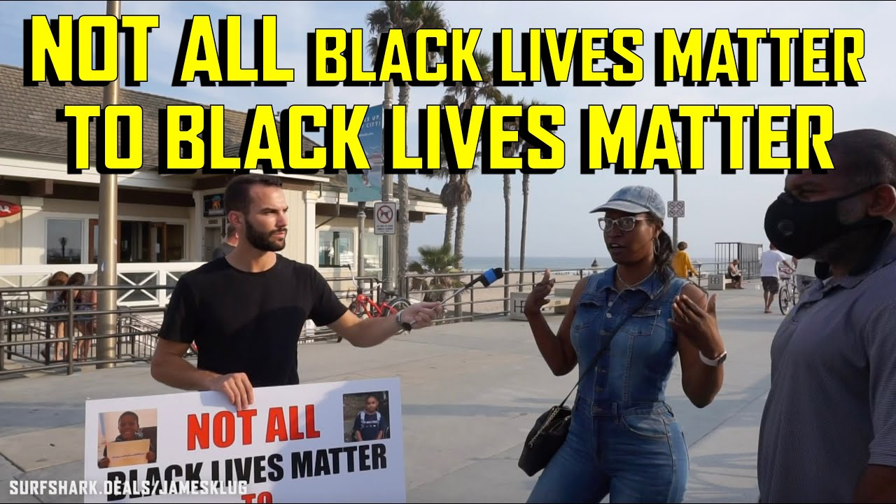 NOT ALL Black Lives Matter To Black Lives Matter