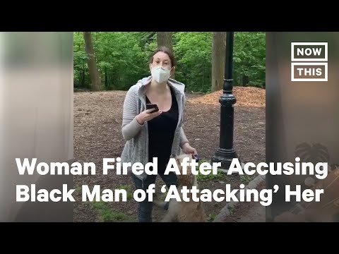 NYC Woman Fired After Falsely Accusing Black Man of 'Attacking'