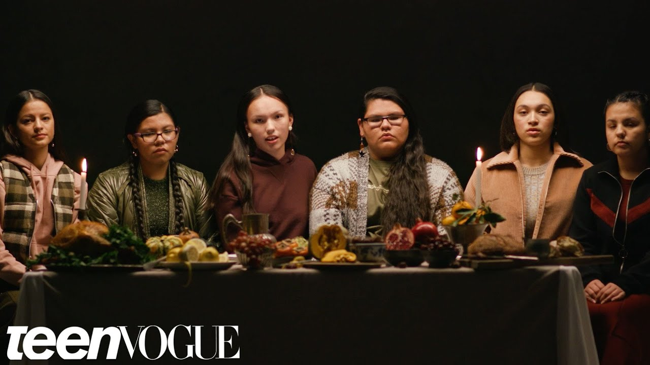 Native American Girls Describe the REAL History Behind Thanksgiving |