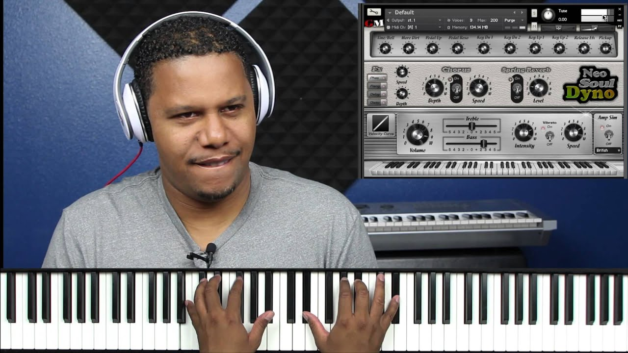 Neo-Soul Dyno Xpansion for Neo-Soul Keys for Kontakt