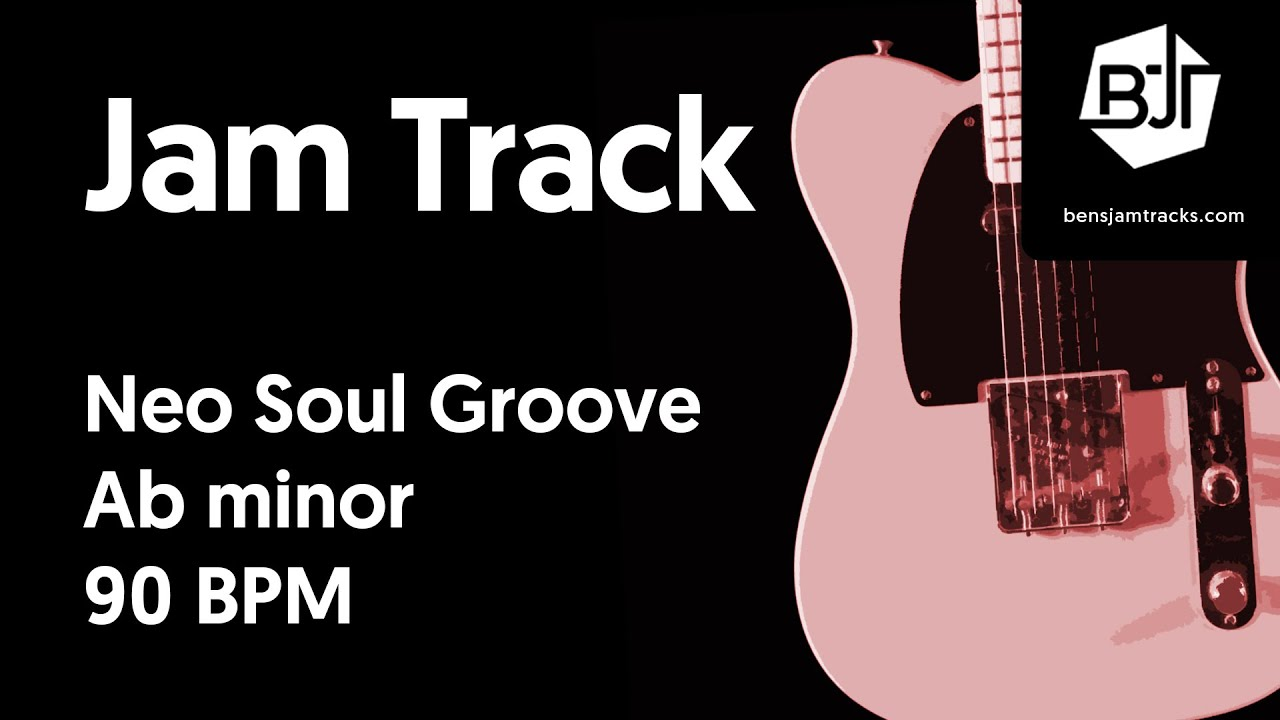 Neo Soul Groove Jam Track in Ab minor – BJT