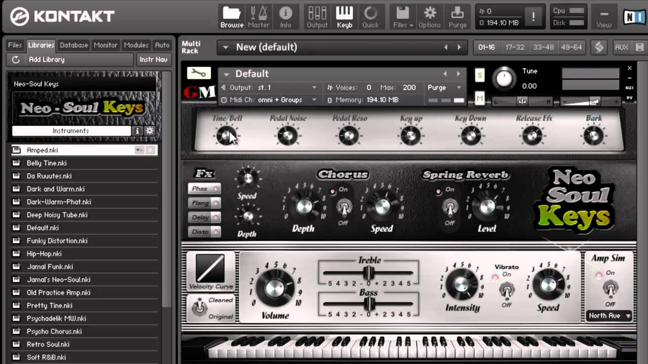 Neo Soul Keys electric piano instrument review