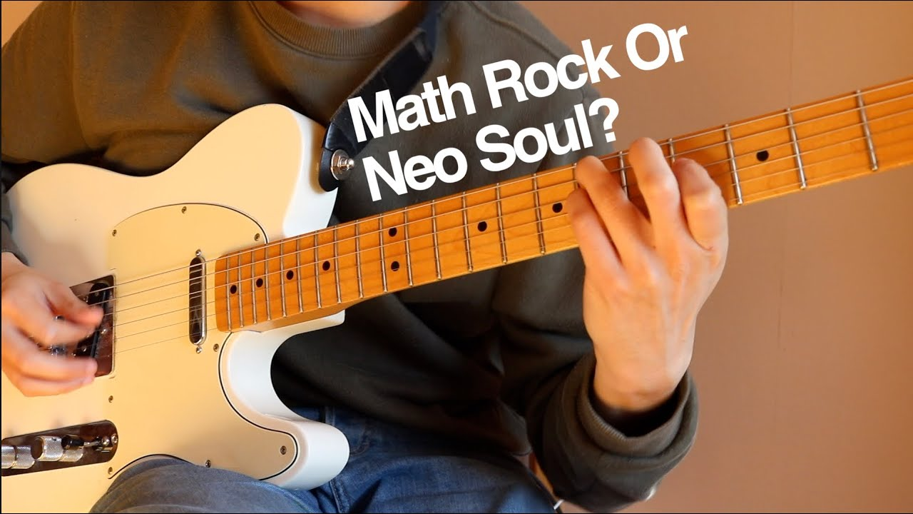 Neo Soul / Math Rock Riff Played On A Telecaster