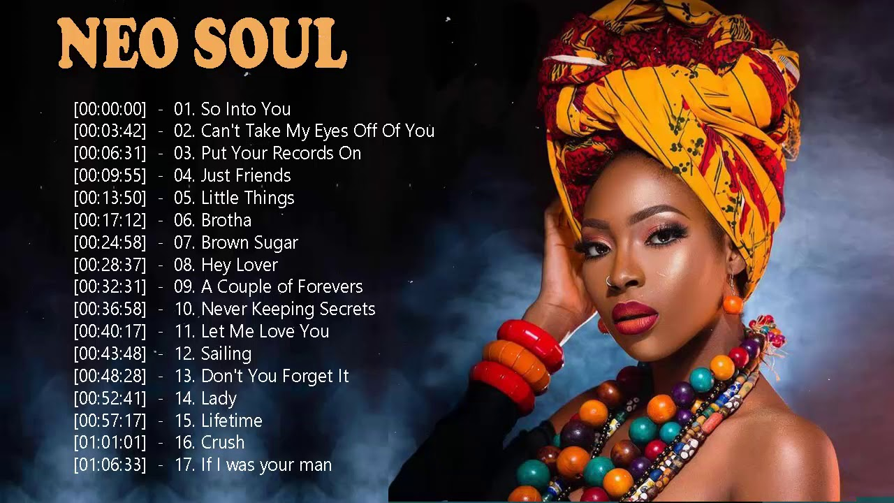 Neo Soul Songs Greatest Hits – Top 20 Best Neo