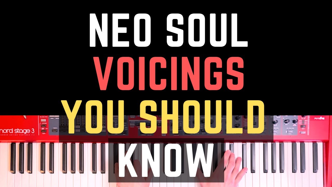 Neo Soul Voicings: Make Simple RnB Chord Progressions Sound Magic
