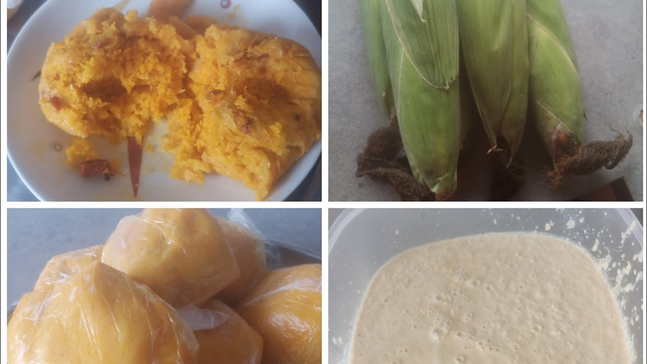 Nigeria African food how to make yummy Nigeria moi moi
