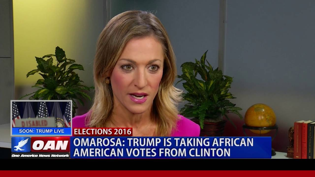 Omarosa: Trump is taking African American votes from Hillary Clinton