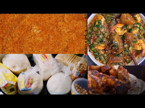 PACK MY AFRICAN FOOD WITH ME FOR UK HOLIDAY  