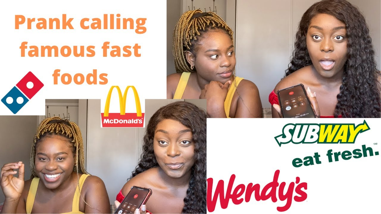 PRANK CALLING FAST FOOD RESTAURANTS👀🚨(ASKING FOR AFRICAN FOOD) ||TICIA TOLAS
