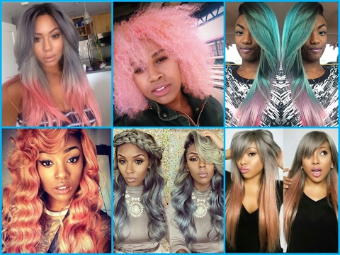 Pastel Hair Color Ideas for Black Women – 2017 Hair
