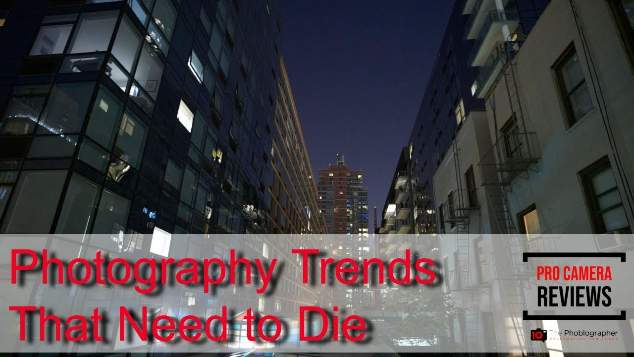 Photography Trends That Need to Die
