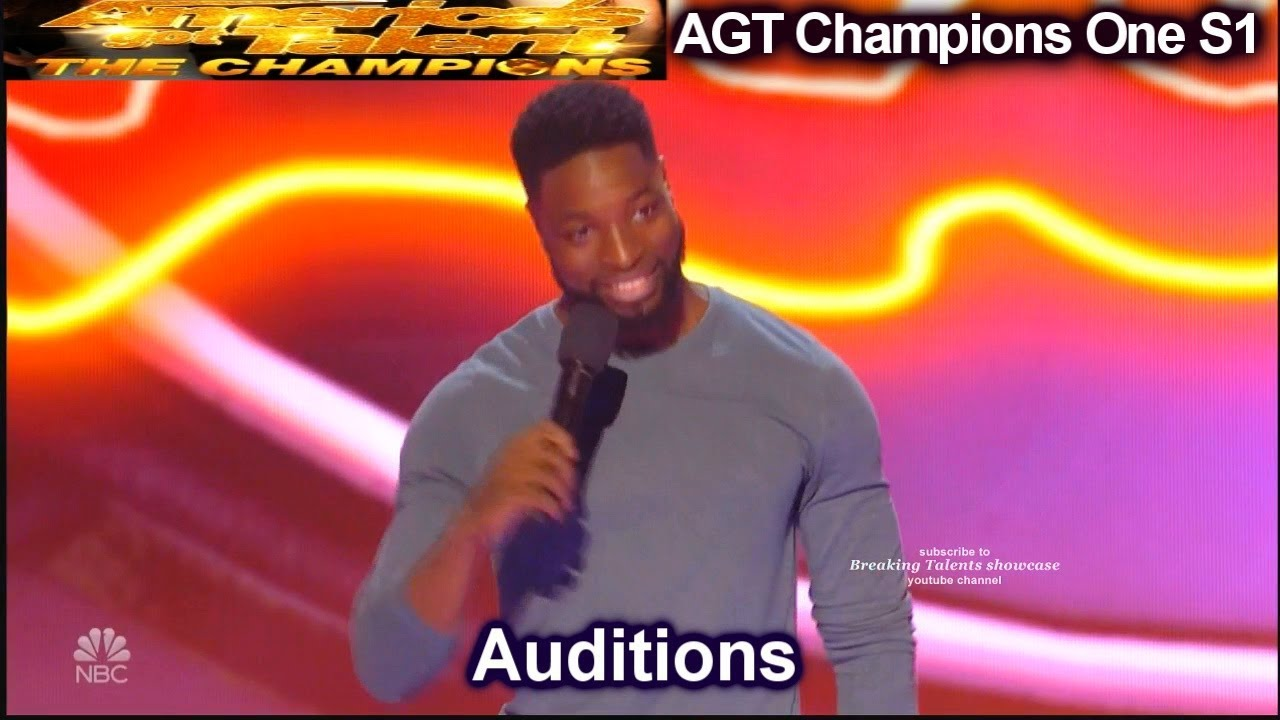 Preacher Lawson Stand Up Comedian REALLY FUNNY Audition |America's Got