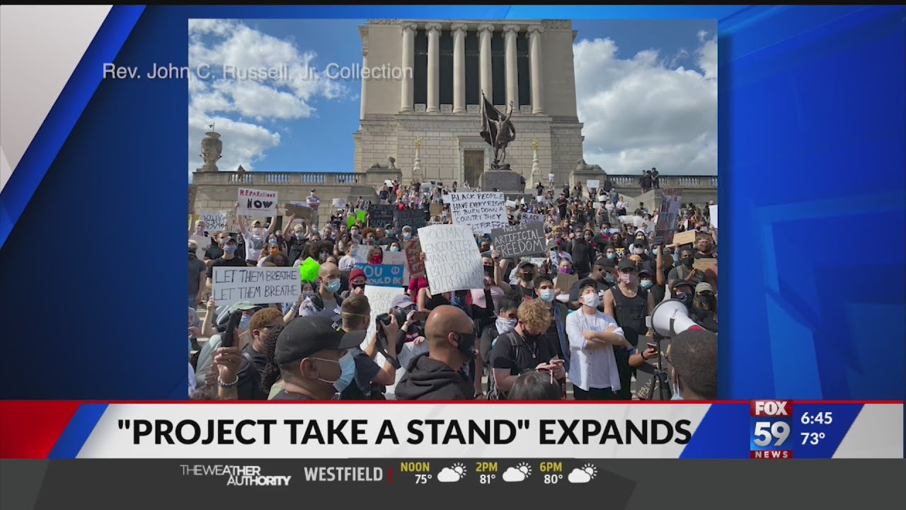 """Project Take a Stand"" Expands Indiana Historical Society's Collecting of"