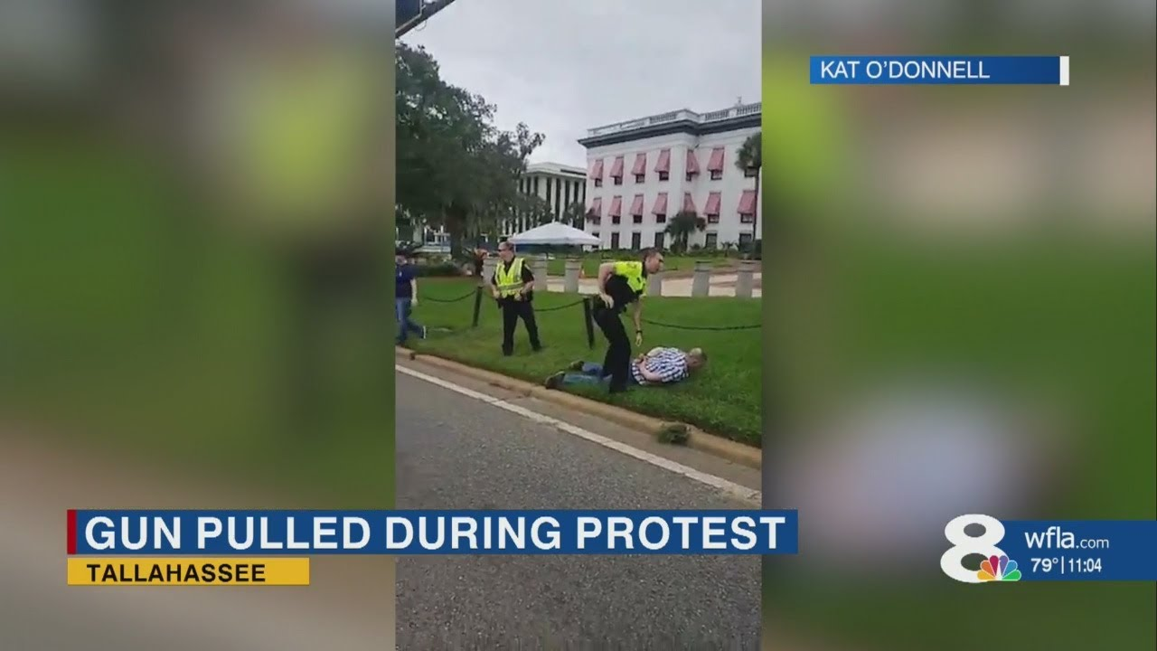 Reports: Gun pulled on Black Lives Matter protesters in Tallahassee