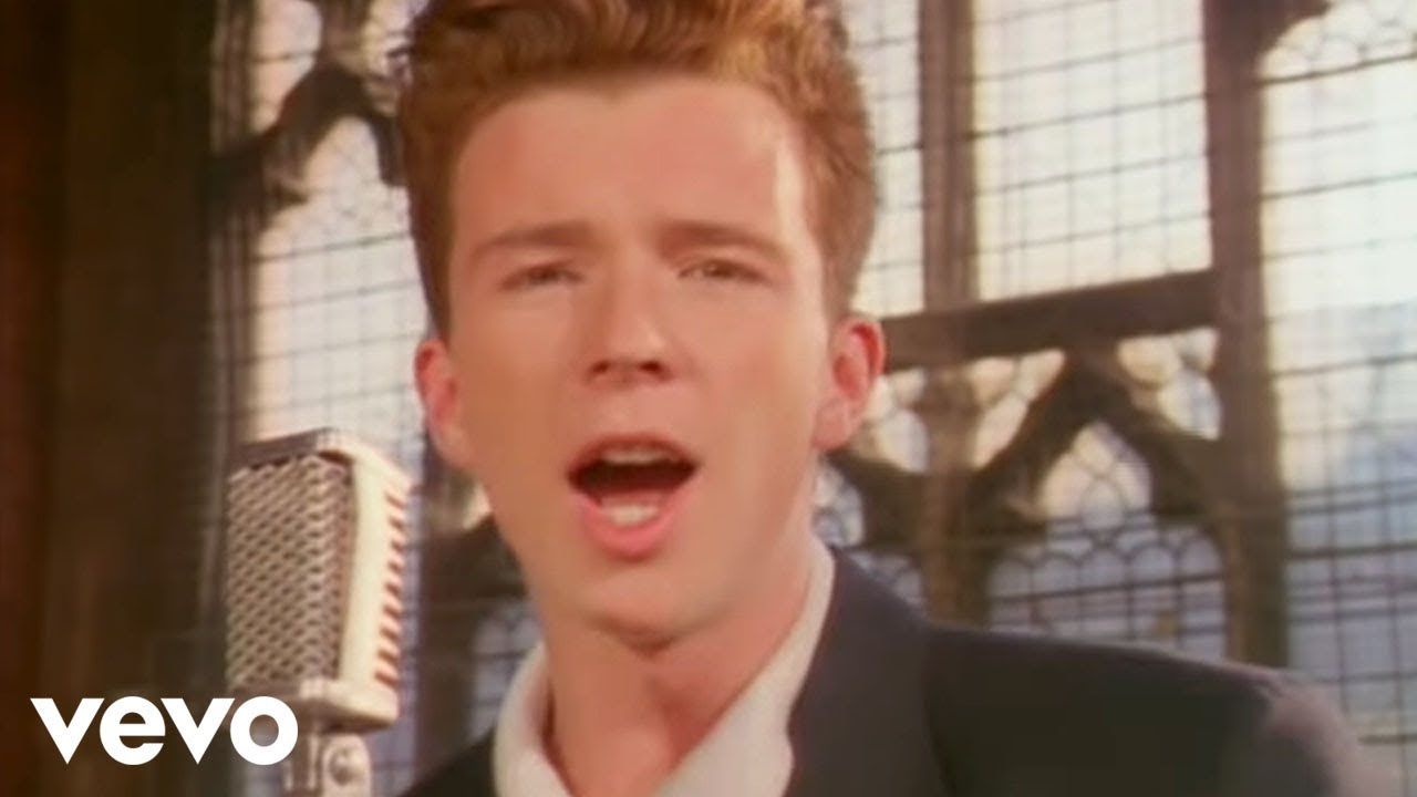 Rick Astley – Never Gonna Give You Up (Video)