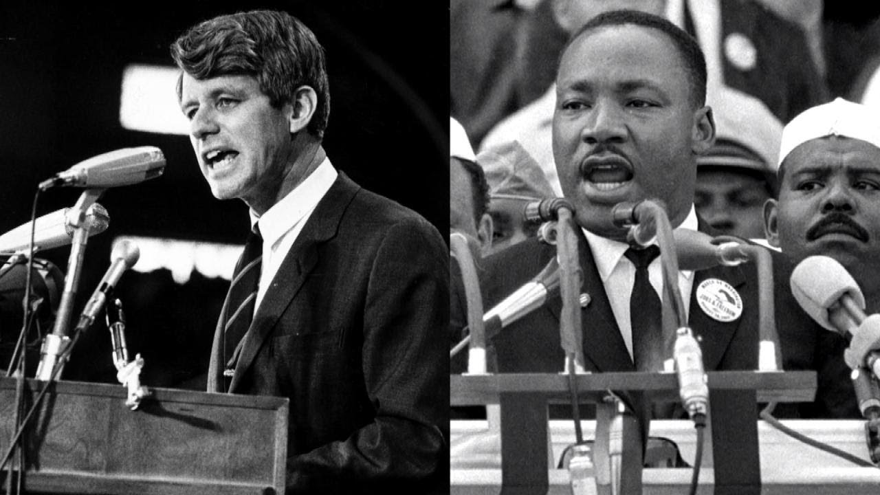 Robert Kennedy Told African-American Audience That Martin Luther King Was